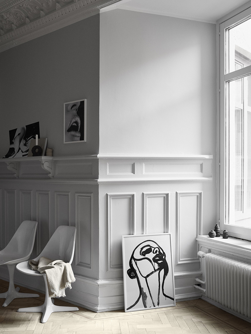 Stunning Apartment Styling by Sundling & Kickén