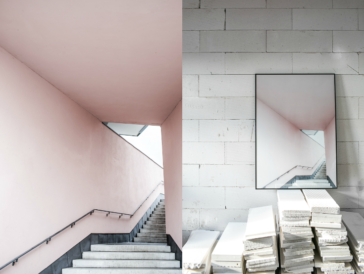 NEW ___________ pink stairs