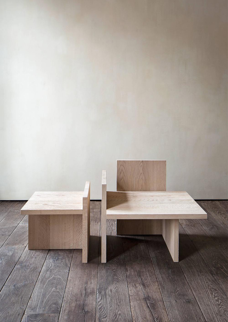 Michaël Verheyden's shelf armchair/table