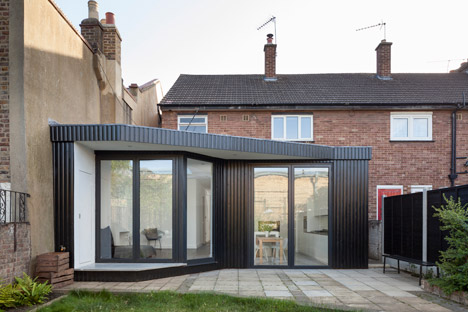 Blackened Timber Extension By Scenario Architecture