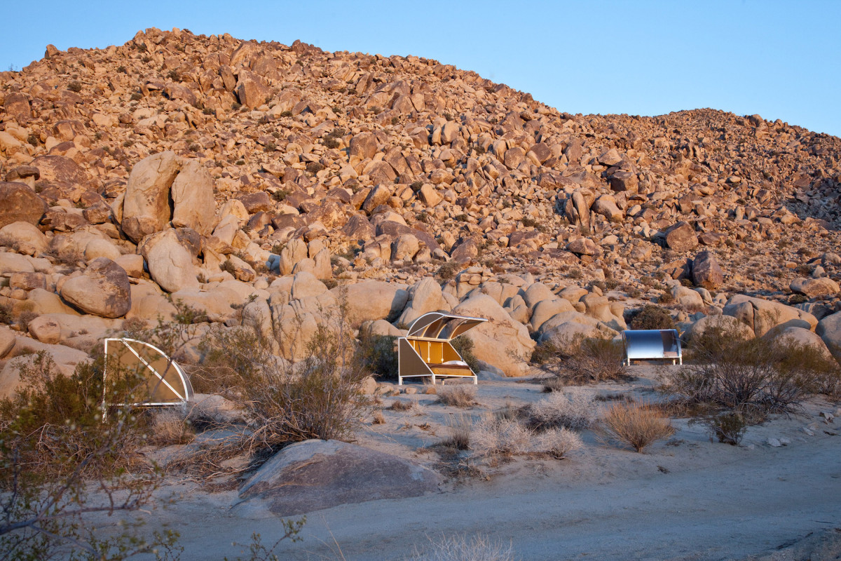 California Desert Camping Pods