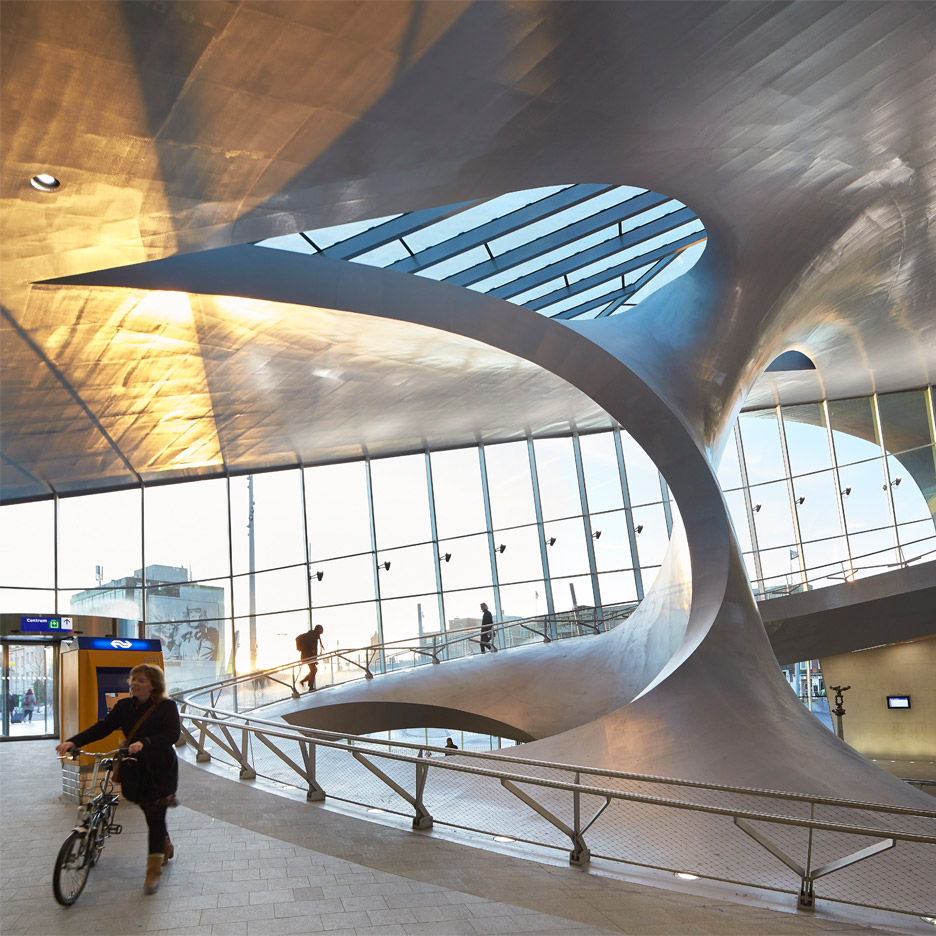 """Railroad stations are our contemporary architecture of democracy"""