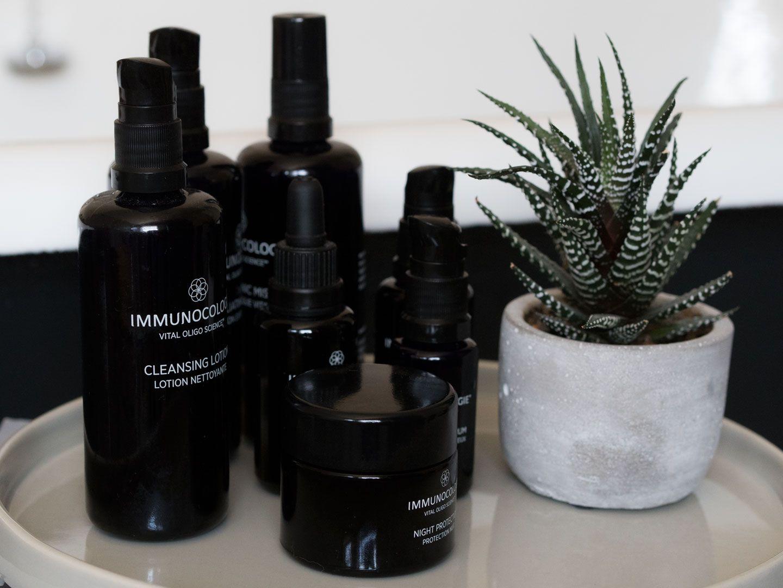 Evening Skincare Ritual with Immunocologie
