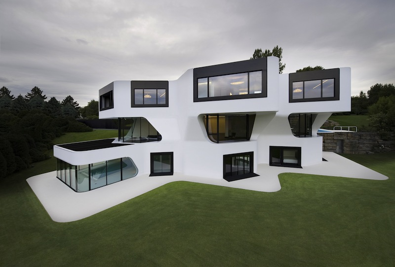 Perfect a futuristic villa by j mayer h architects with la maison du monde zaragoza with la maison la plus jolie du monde
