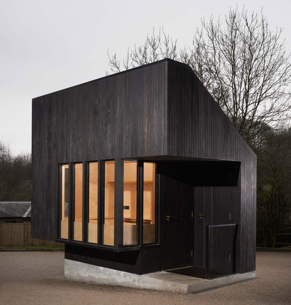 Nord Architecture Completes Charred Timber Gatehouse For