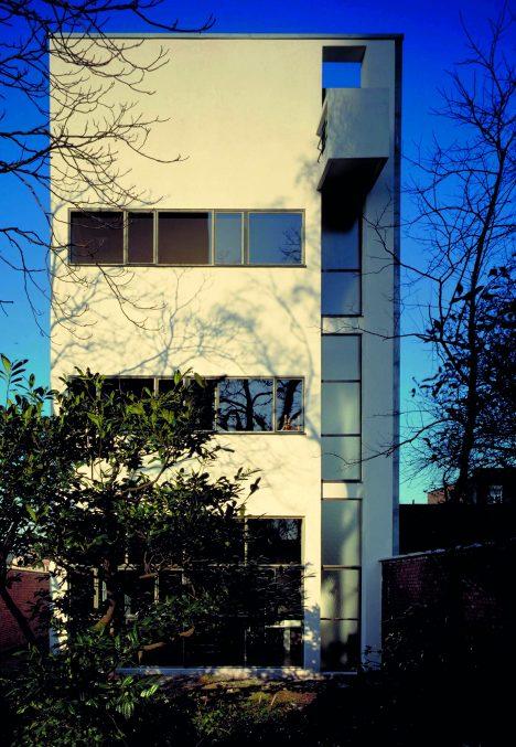 Le Corbusier's Maison Guiette is his only surviving Belgian building
