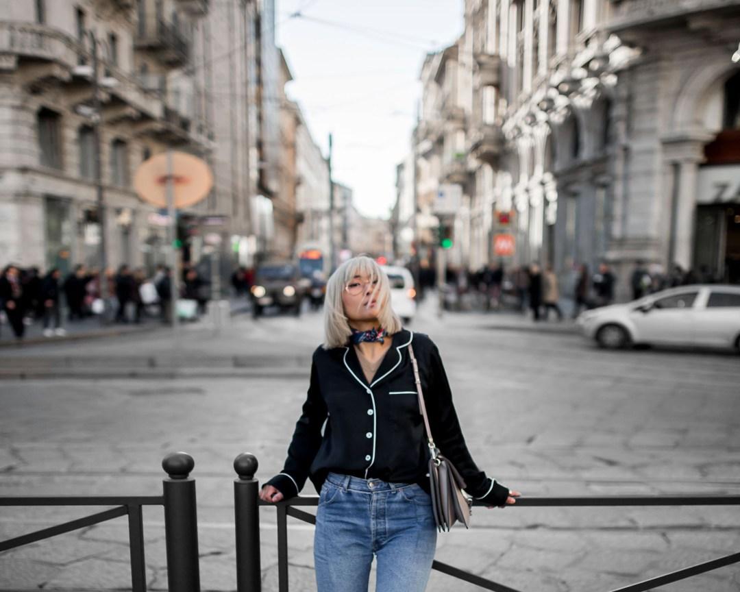The Pyjama Traveler in Milan