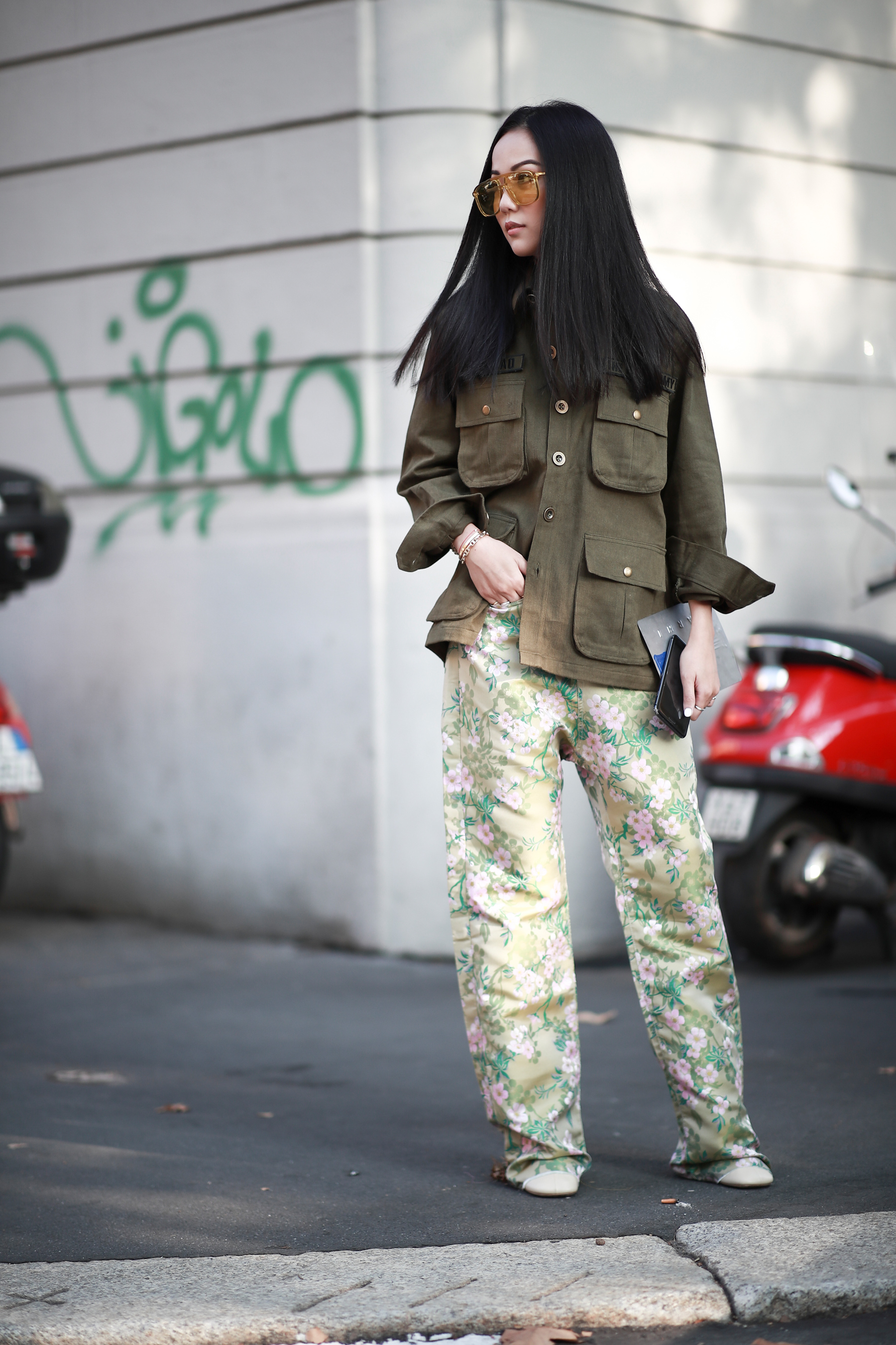 Best Street Style Looks of MFW Spring 2019