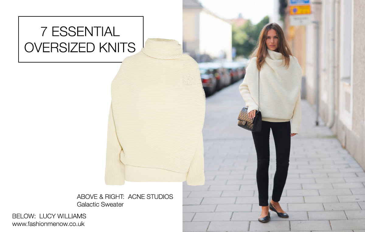 7 Essential Oversized Knits For Fall | Minimal Blogs