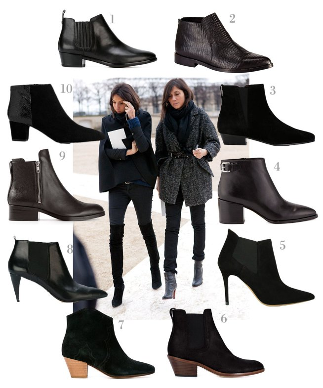 a6cb4330365 10 Black Ankle Boots For AW15 | Minimal Blogs