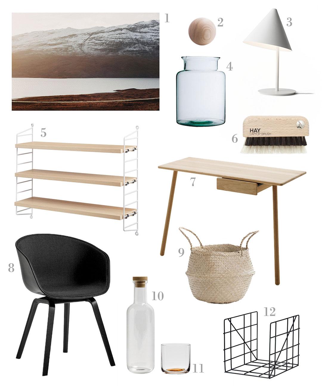 Scandinavian Home Office Essentials