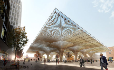 COBE and Lunden win competition to design new transport hub for Finland's second city