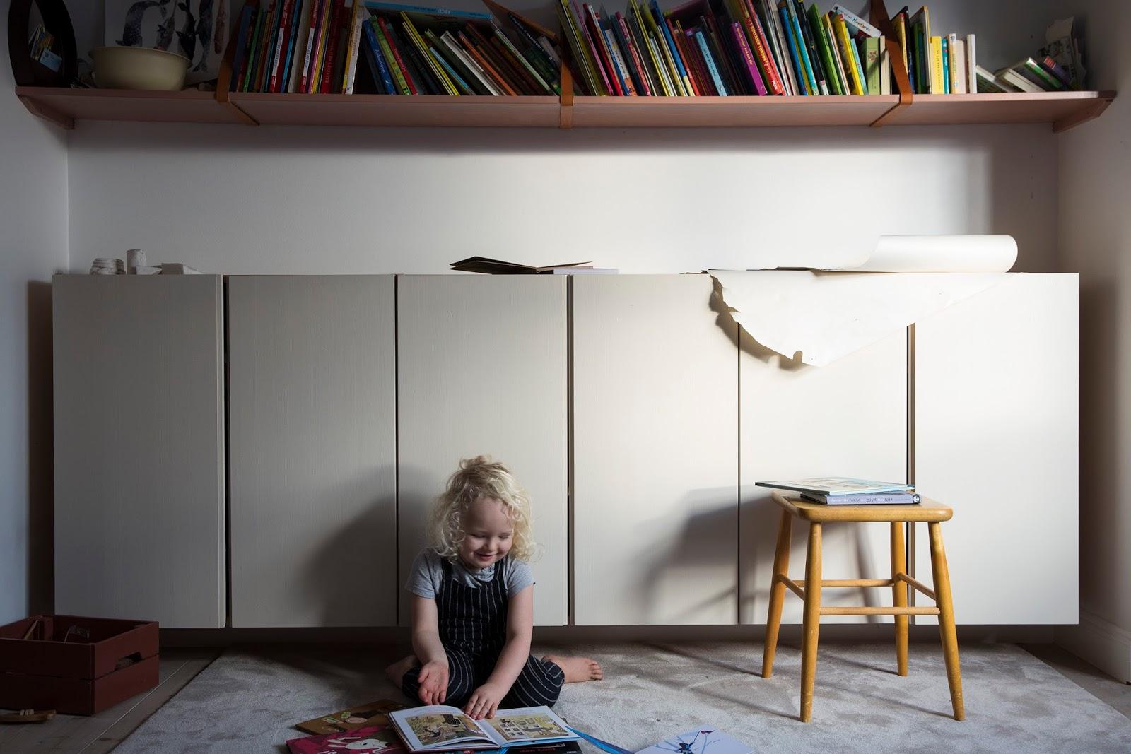 An honest peak into a shared kids room in Sweden