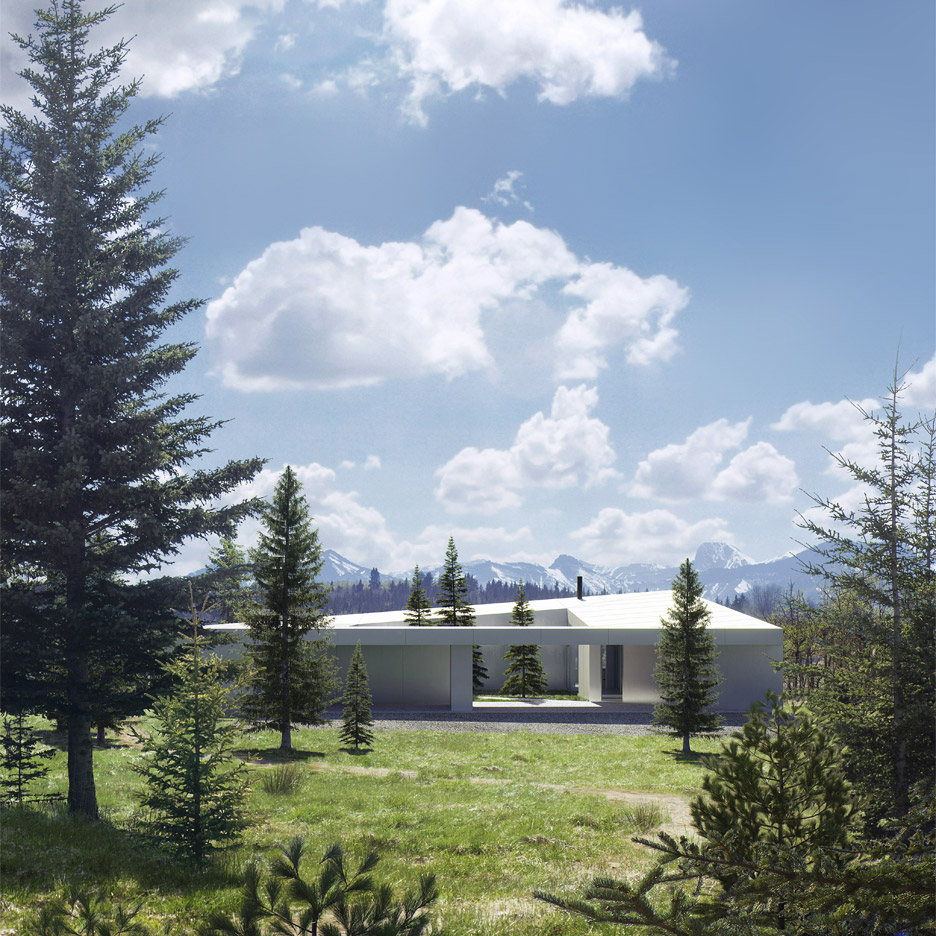 Saunders architecture unveils five house designs for for Landscape architecture canada