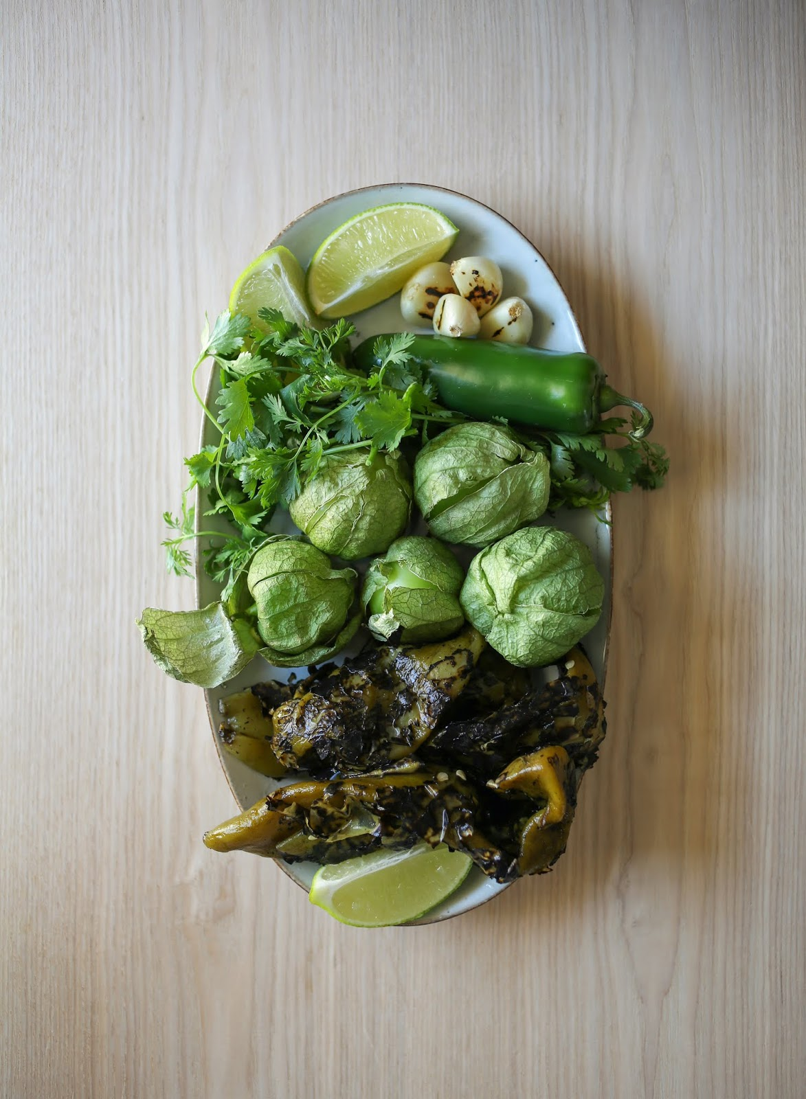 A Quick Salsa Verde Recipe Using Local Hatch Chiles