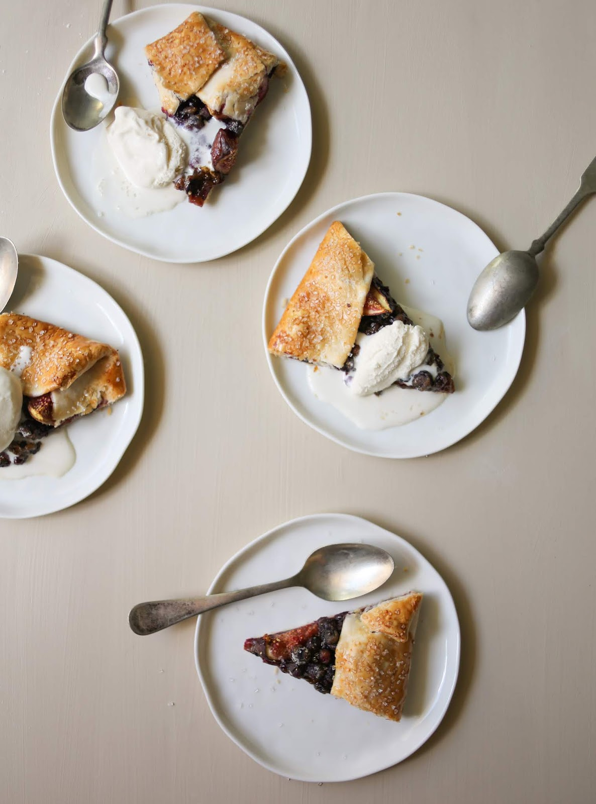Make This Warm Huckleberry Galette