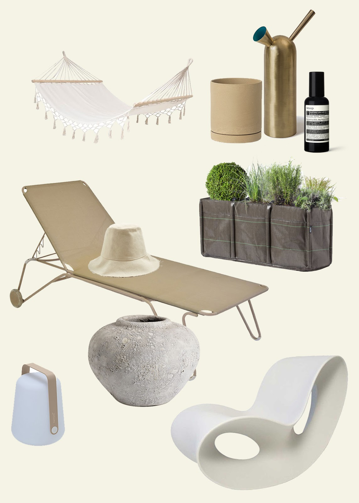 10 pieces to create a beautiful outdoor space