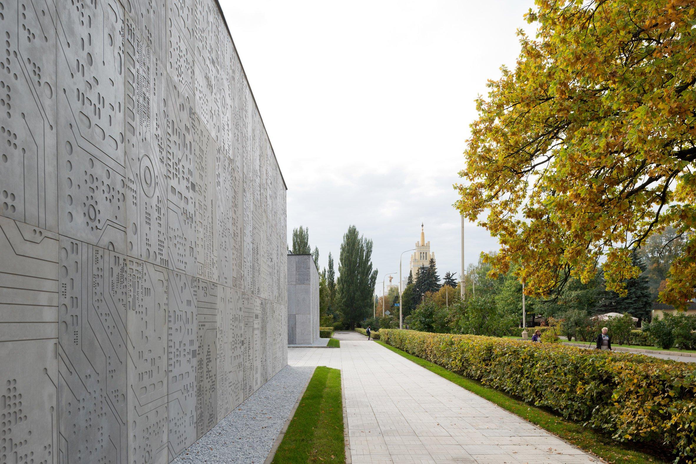 Pavilion dit architecture bureau wall infrastructure