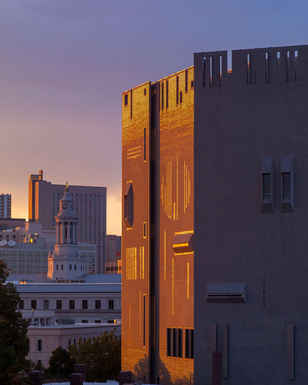 Architecture minimal blogs for Denver art museum concept