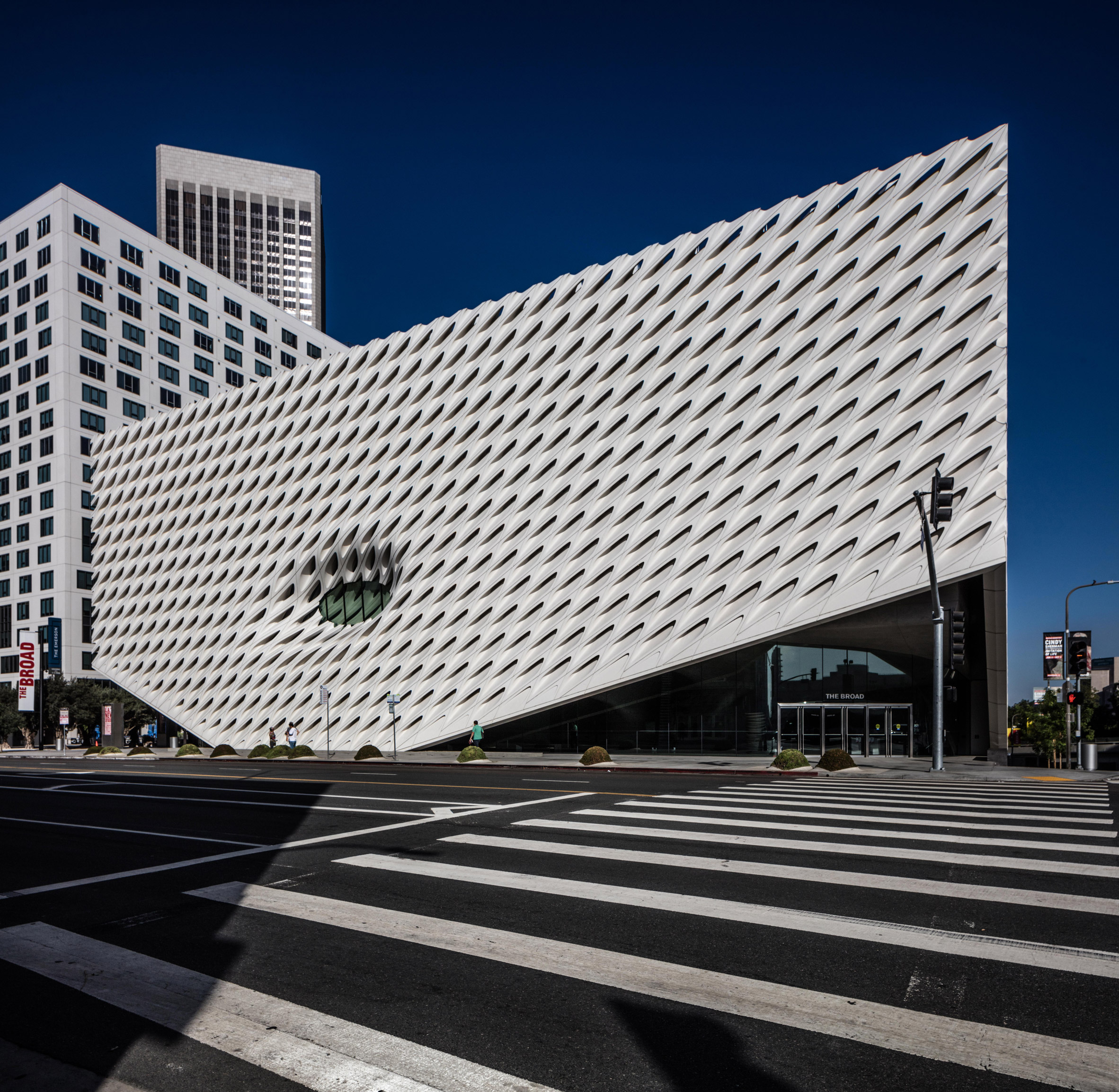 Edmon Leong photographs Diller Scofidio + Renfro's The Broad in Los Angeles one year after opening