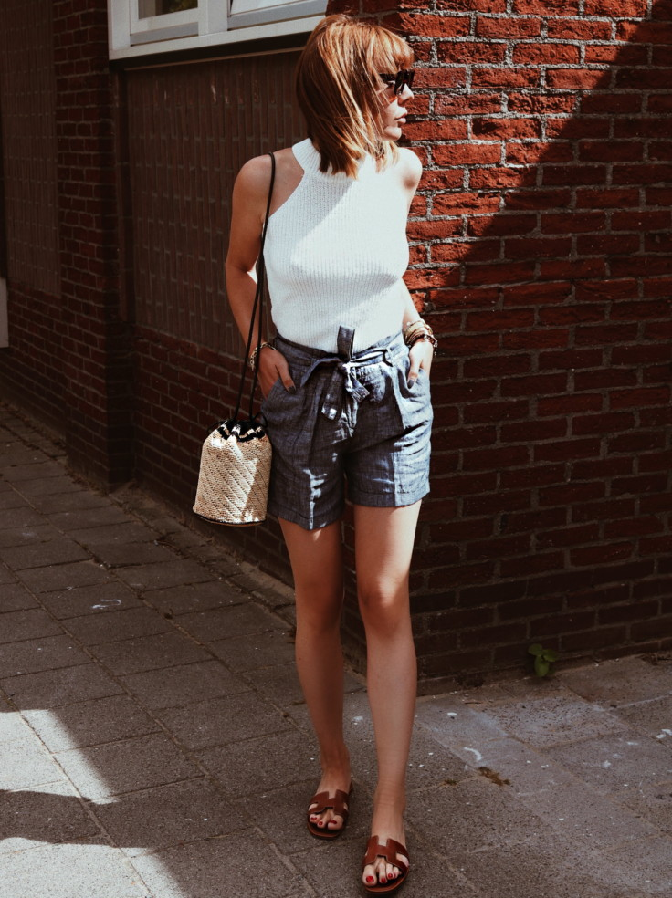 TIED UP TO THE PAPERBAG WAIST TREND