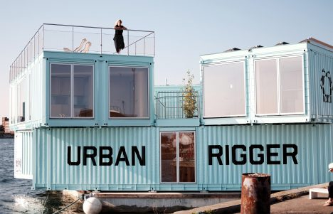 BIG stacks shipping containers to create floating student housing in Copenhagen harbour