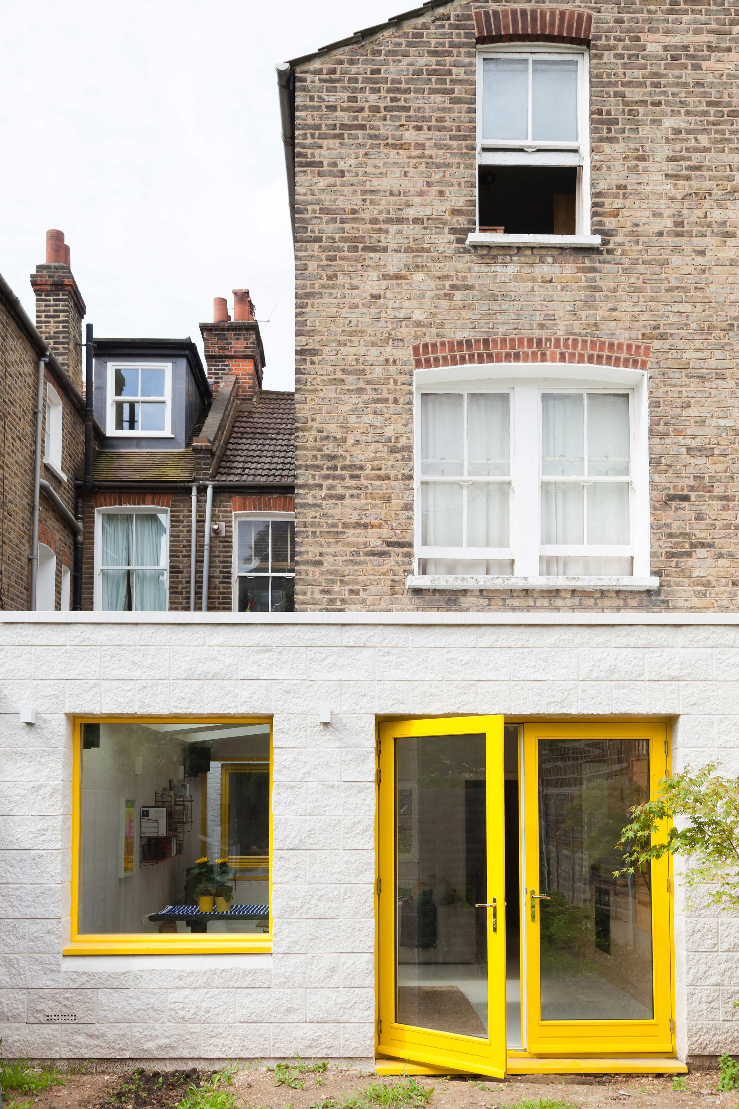 Nimtim creates sunny London house extension to adapt to young couple's changing needs