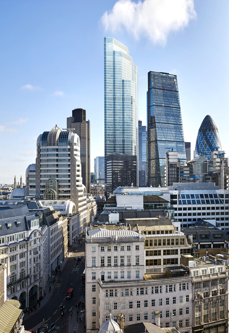 Replacement for London's Pinnacle skyscraper revealed by developers