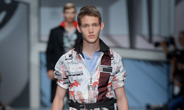 Prada's Men's Designer Collection Targeting Millenials