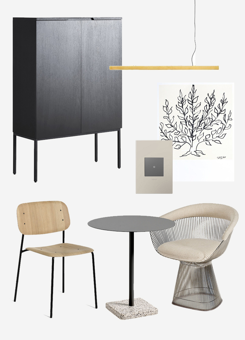 7 objects = modern dining room design