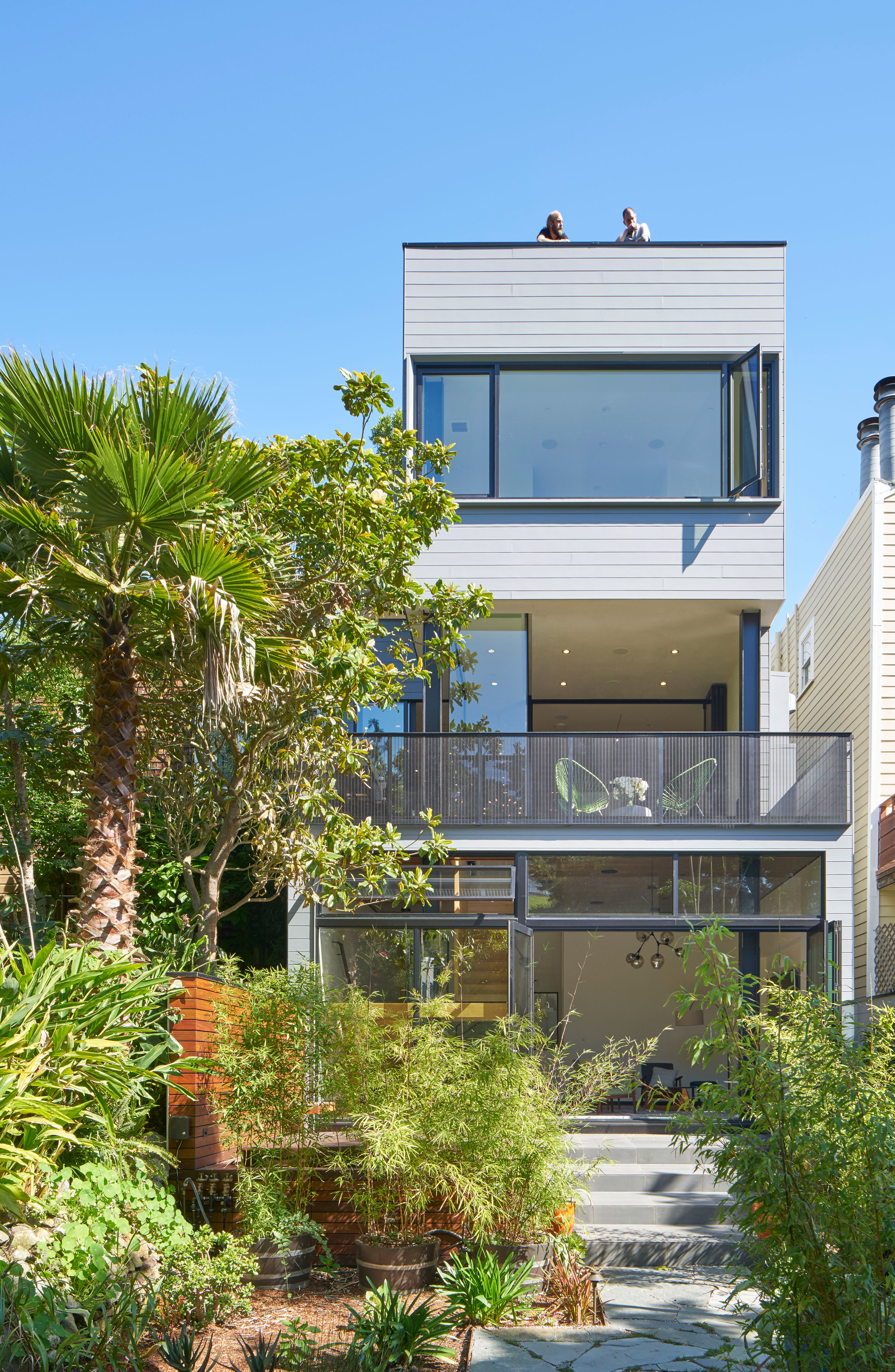 Schwartz and Architecture overhauls San Francisco home with three-level extension