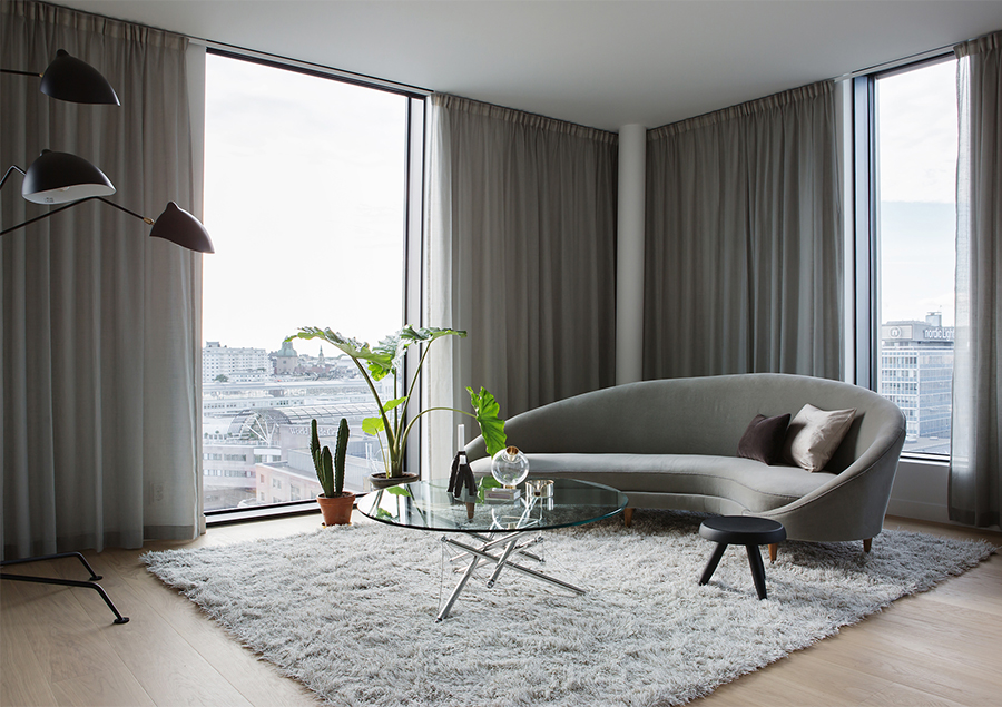 Luxury apartment living in Stockholm