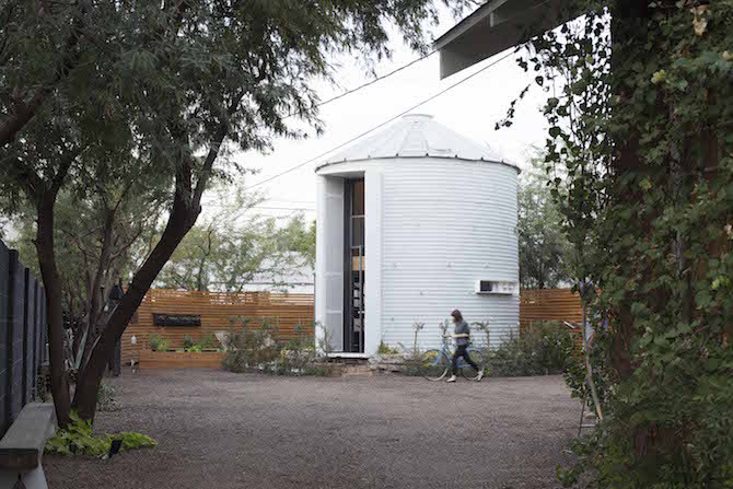 A Converted Silo House By Christoph Kaiser