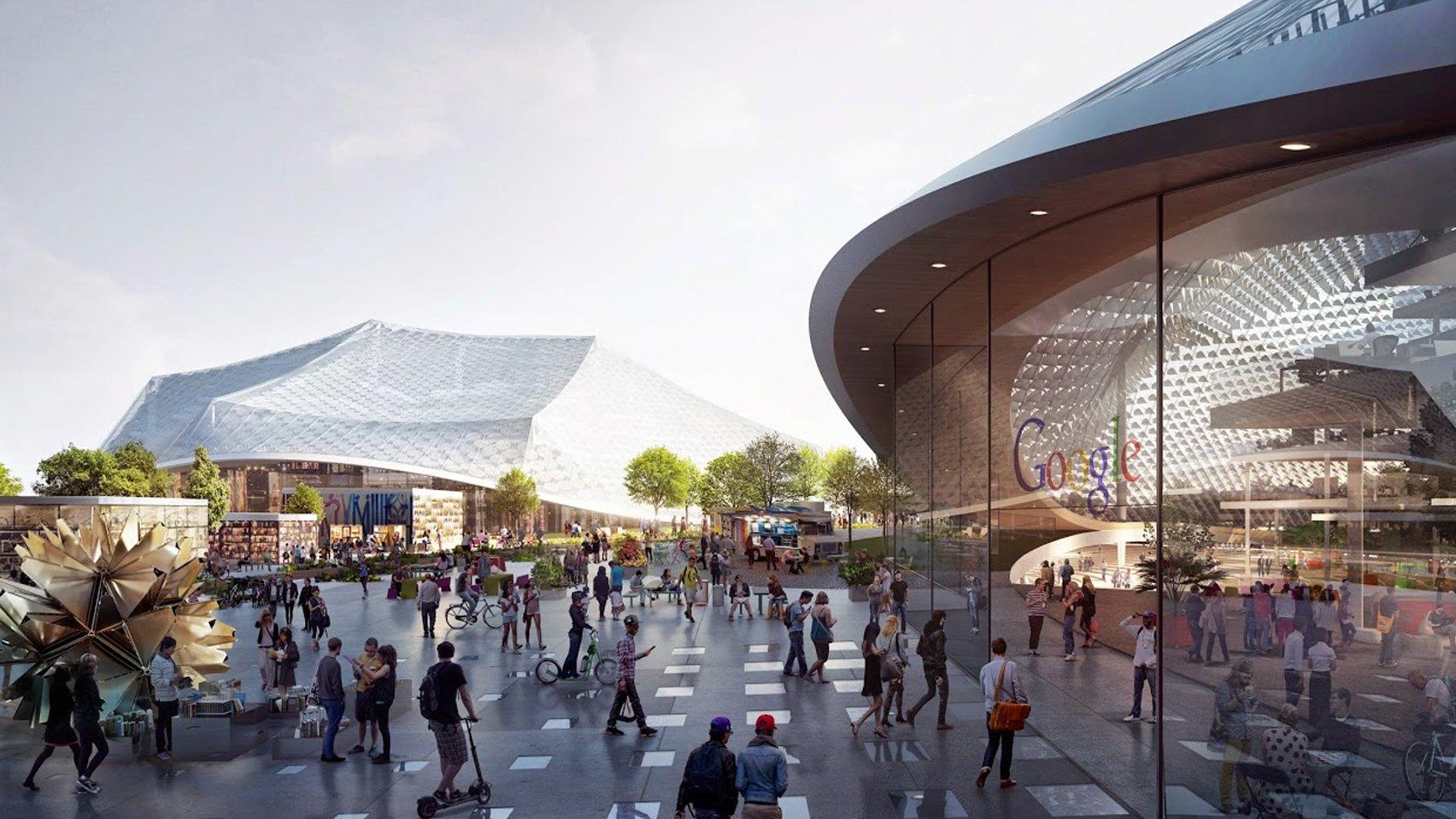 BIG and Heatherwick Studios to design Google's London headquarters