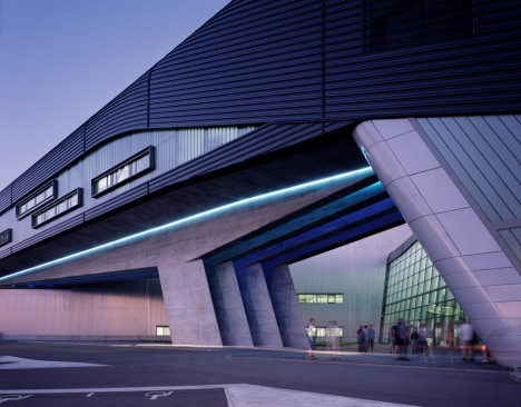 "Zaha Hadid's BMW Central Building is ""a radical piece of thinking,"" says Amanda Levete"