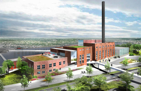 Studio Gang to regenerate former power plant as a student centre