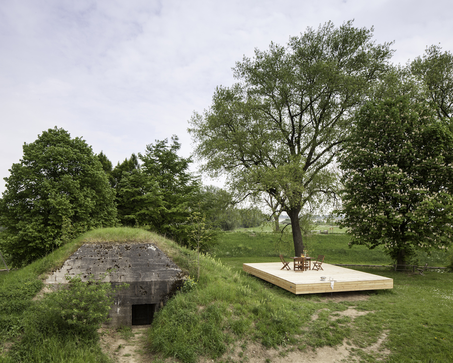 B-ILD Turned An Old Bunker Into A Vacation Home
