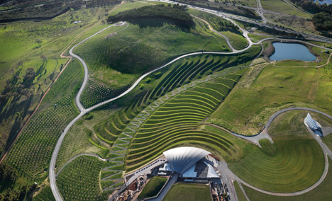 """Canberra's National Arboretum features """"100 forests from around the world"""""""