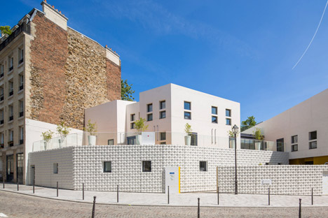 RH+ creates daycare centre with three-dimensional geometric facade