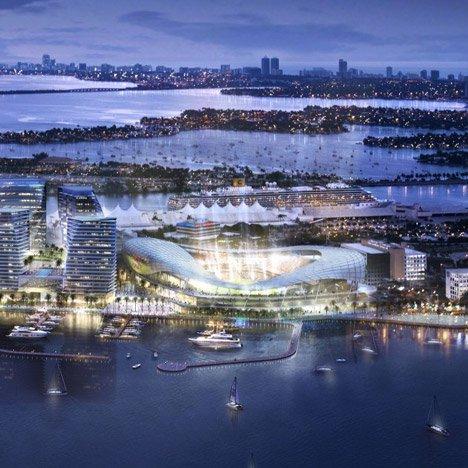 David Beckham scores land for Populous-designed football stadium in Miami