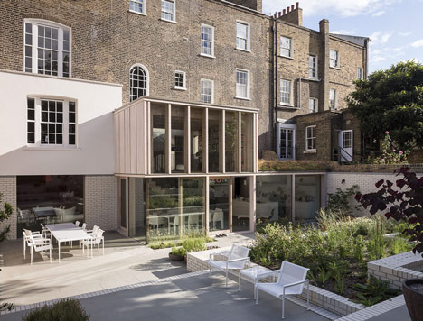 """East London home by Mikhail Riches is """"a big house that's been knitted back together"""""""