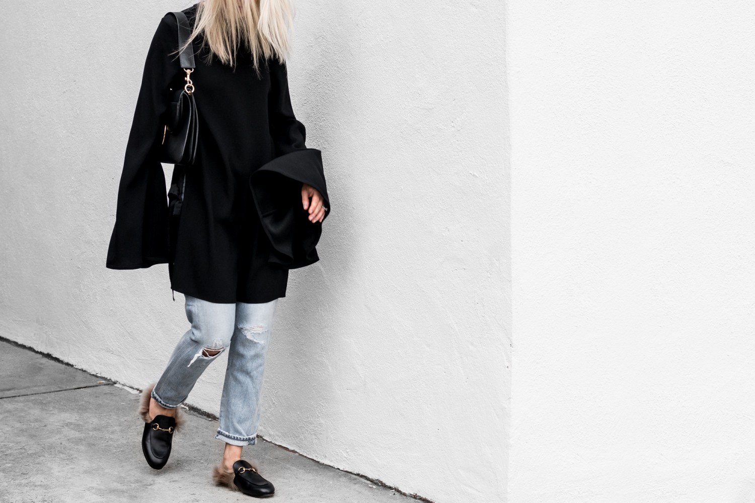 Bold Sleeves + Blue Jeans