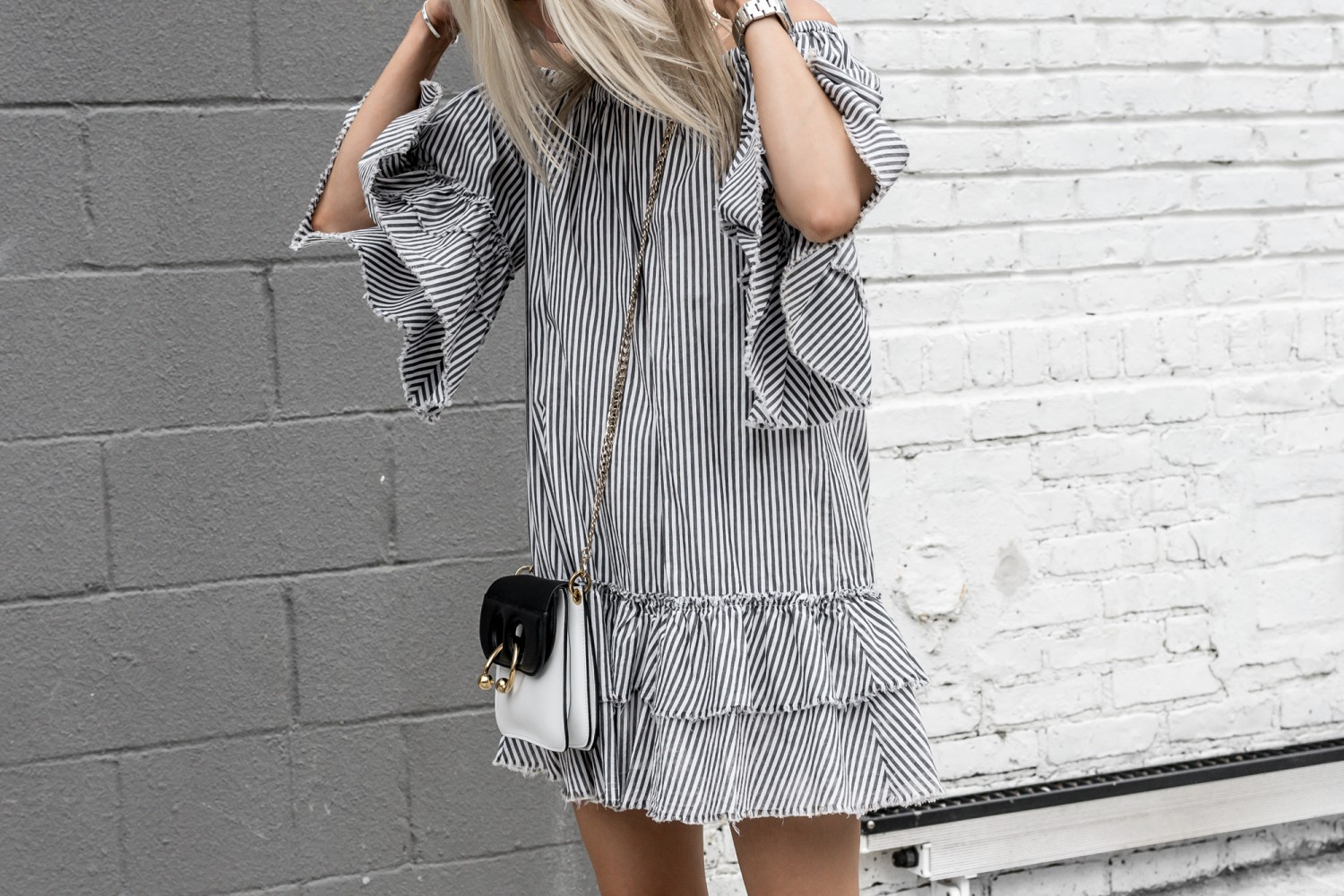 Ruffled and Striped