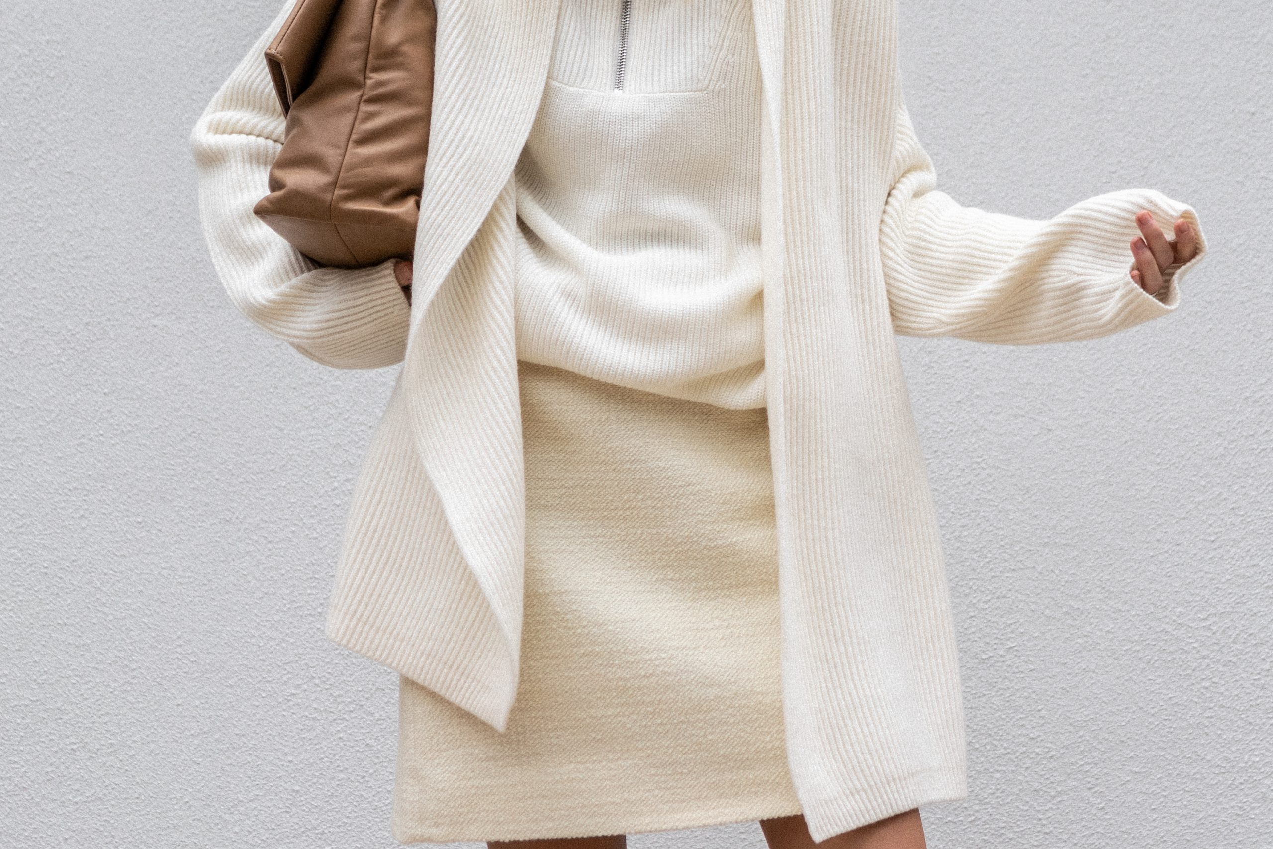 Winter White Layers