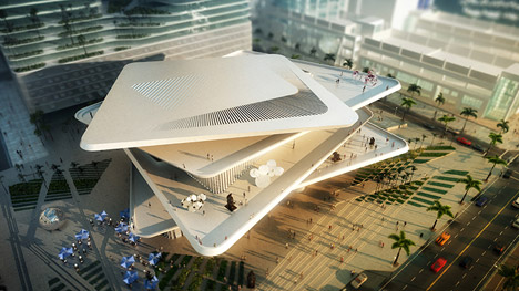 Latin American Art Museum by Fernando Romero revealed for downtown Miami