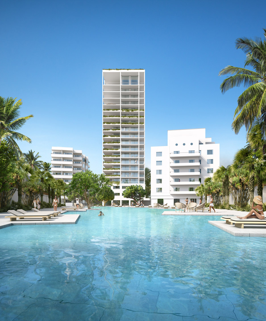 Isay Weinfeld unveils latest designs for update of historic Shore Club in Miami's South Beach