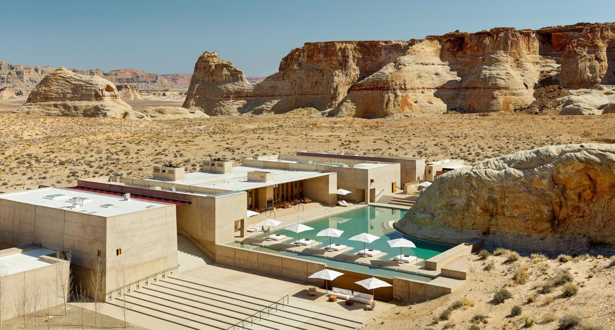 A Spa In The High Desert Of Utah