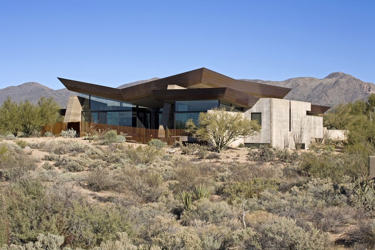 The Desert Wing Residence By Kendle Design