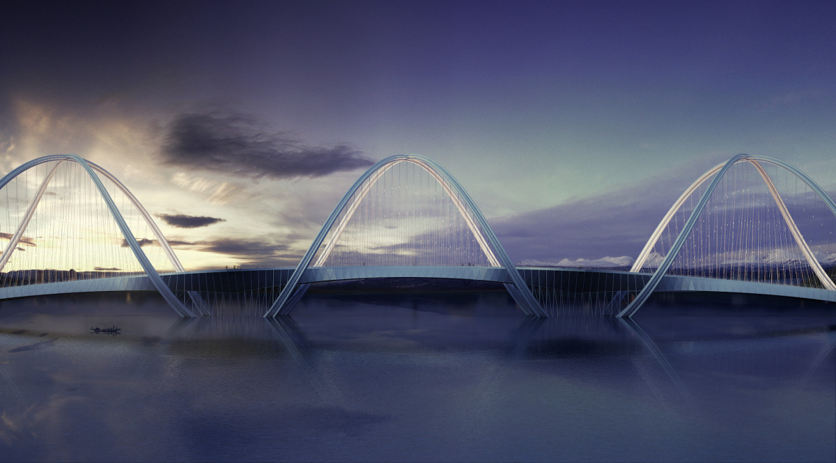 The San Shan Bridge By Penda