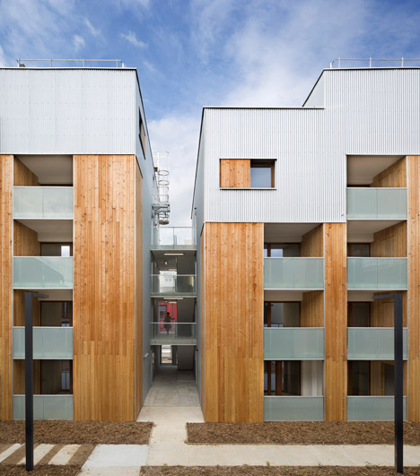 Colboc Franzen's Parisian social housing matches the proportions of its 1930s neighbours